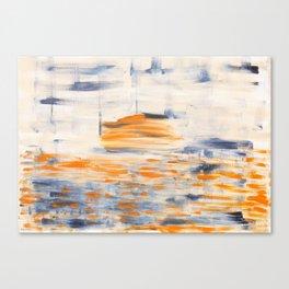 Sunset. Modern art Canvas Print