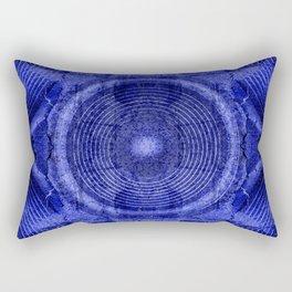 Blue music speaker Rectangular Pillow