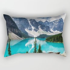 Lake Moraine Banff Rectangular Pillow