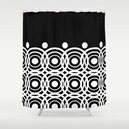 Hypno Circles Shower Curtain