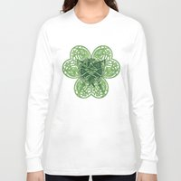 clover Long Sleeve T-shirts featuring CLOVER by RAIDHO