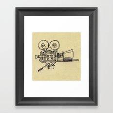 Film Camera Framed Art Print