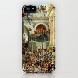 Lawrence Alma-Tadema Spring iPhone Case