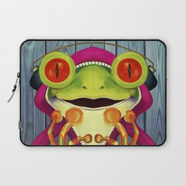 Music Frog Laptop Sleeve