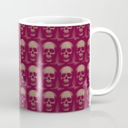 Specter and Spook's Skull Menagerie- Dusty Rose Coffee Mug