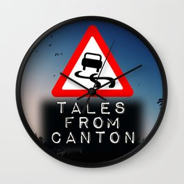 Tales From Canton Collection #1 Wall Clock