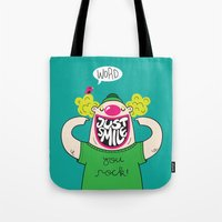 Just Smile Tote Bag