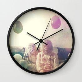 Clown Party Wall Clock