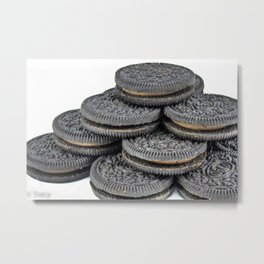A Balanced Diet Is a Cookie In Each Hand Metal Print