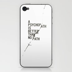 Psychopath iPhone & iPod Skin