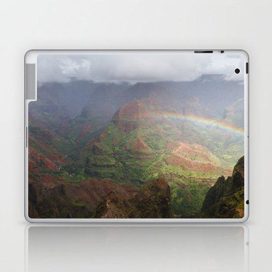 Waimea Canyon Rainbow Laptop & iPad Skin