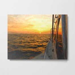 Heading East Metal Print