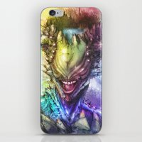 earth iPhone & iPod Skins featuring Earth by Vincent Vernacatola