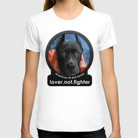 pit bull T-shirts featuring Pit Bull by Galen Valle