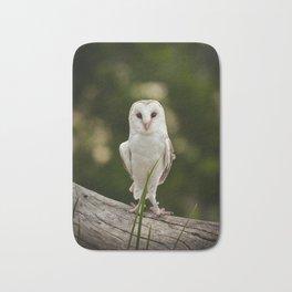 White owl Bath Mat