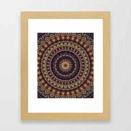 Mandala 252 Framed Art Print