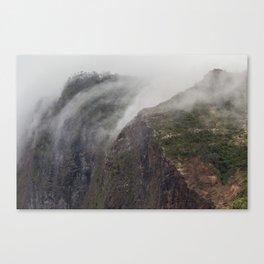 Madeira Fog Canvas Print