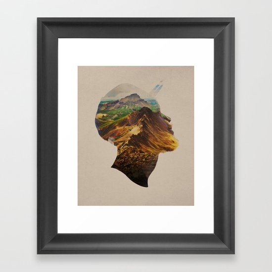 Get Away Framed Art Print