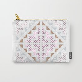 Tribal Hmong Design Carry-All Pouch