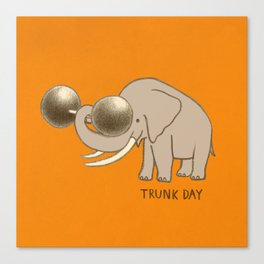 Trunk Day Canvas Print