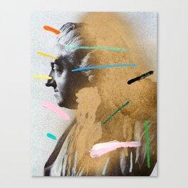 Composition 528 Canvas Print