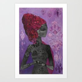 self control Art Print