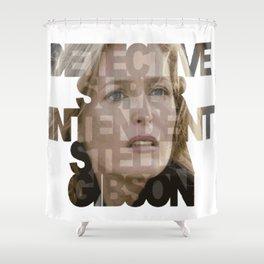 Detective Superintendent Stella Gibson Shower Curtain