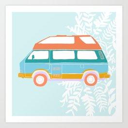 Jade - Van Life Series Art Print