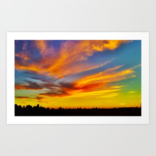 For the love of Dusk Art Print