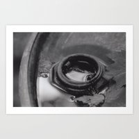 Abstracted Waste Art Print