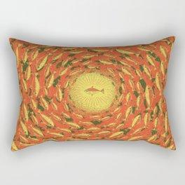 Swim for the Light Rectangular Pillow