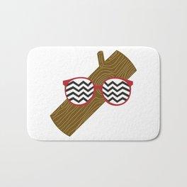 Twin Peaks Log Bath Mat
