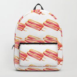 Twin Pop Pattern Backpack