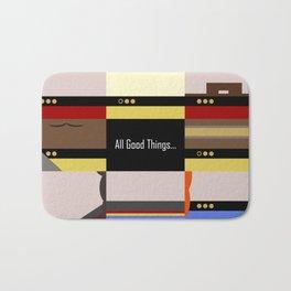 TNG - All Good Things - Minimalist Star Trek TNG The Next Generation 1701 D  startrek  Trektangles Bath Mat