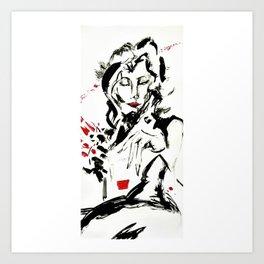 Jazz Killer Art Print