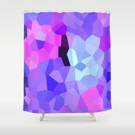 Purple Pink Amethyst - See Leggings! Shower Curtain