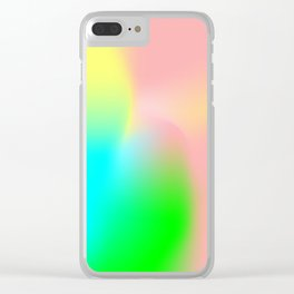 Gradiant Clear iPhone Case