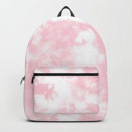 Pink Tie Dye & Batik Backpack