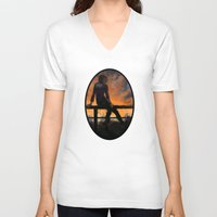 tame impala V-neck T-shirts featuring Impala by Armellin