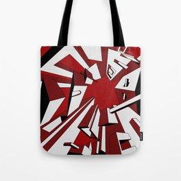 Radial Boxes Tote Bag