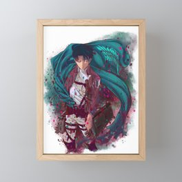 Attack On Titan - Levi Ackerman (Version 2/5) Framed Mini Art Print