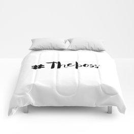 The Boss Comforters