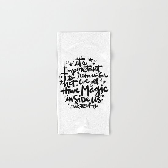 Magic Inside Hand & Bath Towel