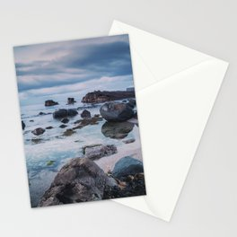 Pans Rocks Beach III Stationery Cards
