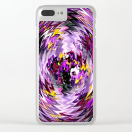 The Pansies within... Clear iPhone Case
