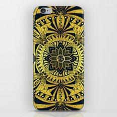 Golden Geometry iPhone & iPod Skin