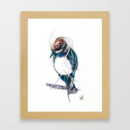 Wagtails Framed Art Print