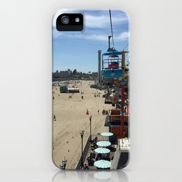Santa Cruz Beach Boardwalk April 26, 2015 iPhone Case