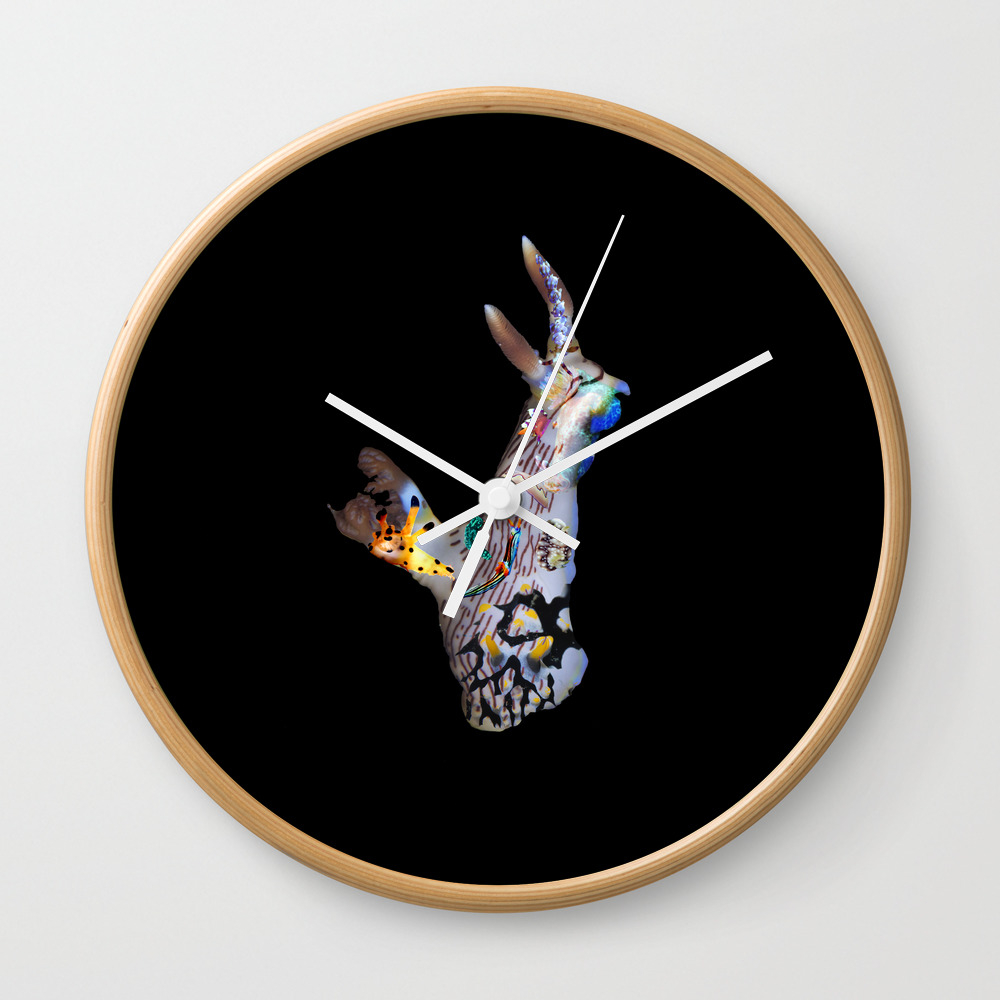 Nudi God Wall Clock by Scubaprincess CLK7968052
