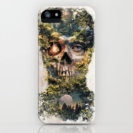 The Gatekeeper Surreal Dark Fantasy iPhone Case